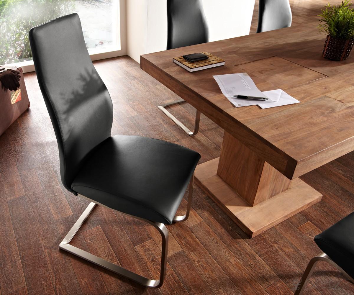freischwinger esszimmerstuhl leder wei 5354 pictures to pin on pinterest. Black Bedroom Furniture Sets. Home Design Ideas
